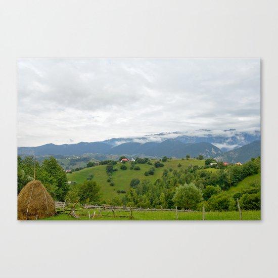 Beautiful Transylvanian mountain landscape Canvas Print