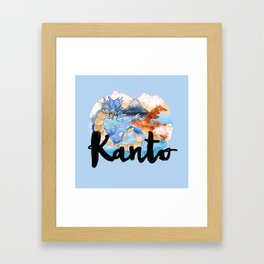 Kanto Framed Art Print