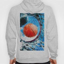 Basketball art print 166 Hoody