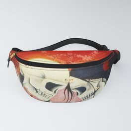 Day of the Dead Lovers Fanny Pack