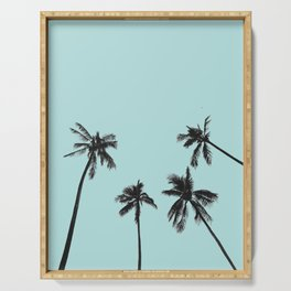 Palm trees 5 Serving Tray