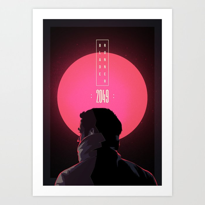 Blade Runner 2049 Art Print By Lovastibor Society6