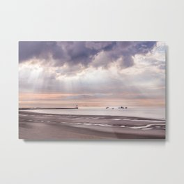 Dunkirk the movie in the making Metal Print