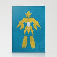 digimon Stationery Cards featuring Magnamon by JHTY