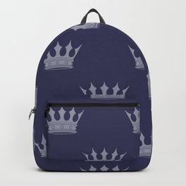 Royal Blue with Light Blue Crowns Backpack