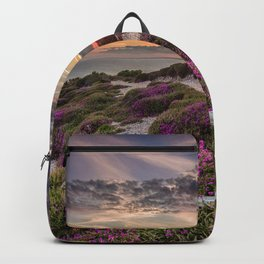 Headon Hill Sunset Isle Of Wight Backpack