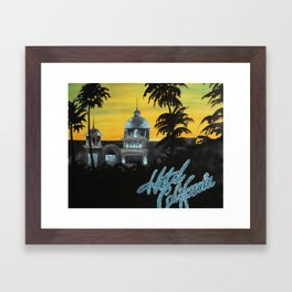 Hotel California Framed Art Print