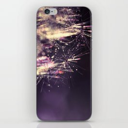 dandelion purple III iPhone Skin