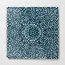flowing lines pattern 3 Metal Print