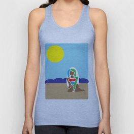 beachbabe1 Unisex Tank Top