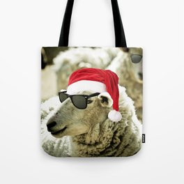 Tis The Season - Sheep Tote Bag