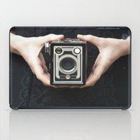 vintage camera iPad Cases featuring Vintage Camera by Maria Heyens