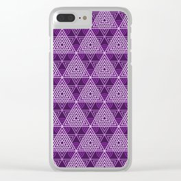 Op Art 74 Clear iPhone Case