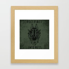 Feet First into Hell - Halo ODST Framed Art Print