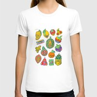 casablanca T-shirts featuring Fruity Hero by BKK BROS. by BKK BROS. (Bangkok Brothers)