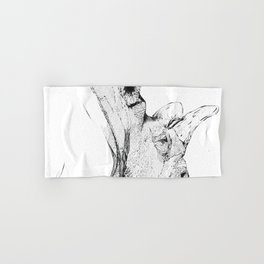 Rinoceronte Hand & Bath Towel