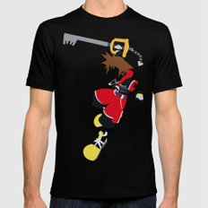 Sora SMALL Black Mens Fitted Tee