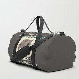 Wombat of Happiness Duffle Bag