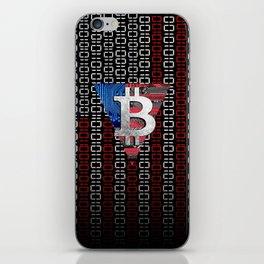 bitcoin USA  iPhone Skin