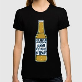 Beer Alcohol Party Heart Love Song Song Gift T-shirt