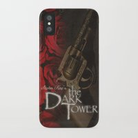 dark tower iPhone & iPod Cases featuring Dark Tower by JAGraphic