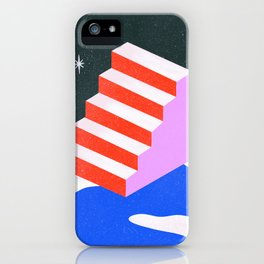 Alone Stairway  iPhone Case