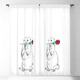 Otterly Romantic Blackout Curtain