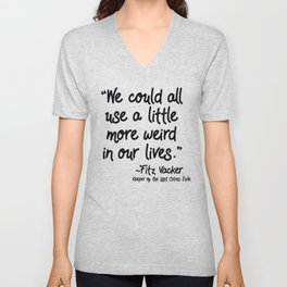 Fan-favorite Fitz Quote Unisex V-Neck