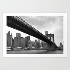 The Big City Art Print