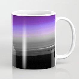 Purple Gray Black Smooth Ombre Coffee Mug