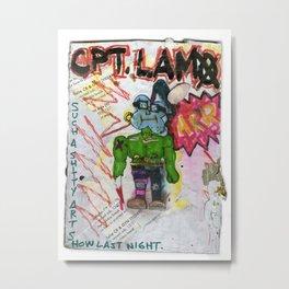 Captain Lamo Metal Print