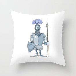 knight Throw Pillow
