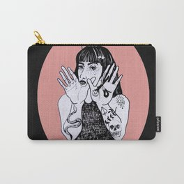 Black witch Carry-All Pouch