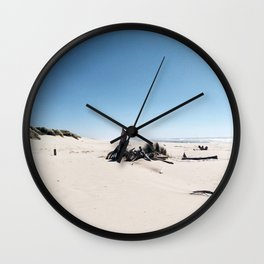 Dunes in Florence, Oregon Wall Clock