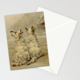 Earl,Maud(1864-1943) -The Power of the Dog1910 Terrier) Stationery Cards