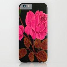 Pink Roses Slim Case iPhone 6s