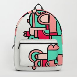 Marshmallow Factory Backpack