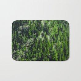 Forest pattern Bath Mat
