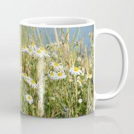 Wildflowers along the lake Coffee Mug