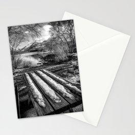 Lake Padarn Bench Stationery Cards