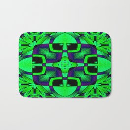 Stained Glass Collection VII Splash Of Color Bath Mat