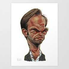 Hugo Weaving Art Print