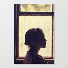 Little girl. Canvas Print