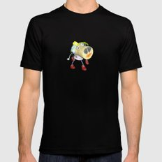 Piggy`s Wife ;) Mens Fitted Tee Black MEDIUM