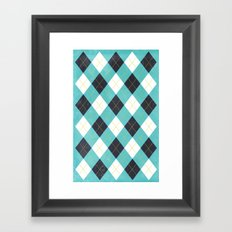 Argyle Framed Art Print