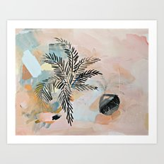 Date Palm Art Print