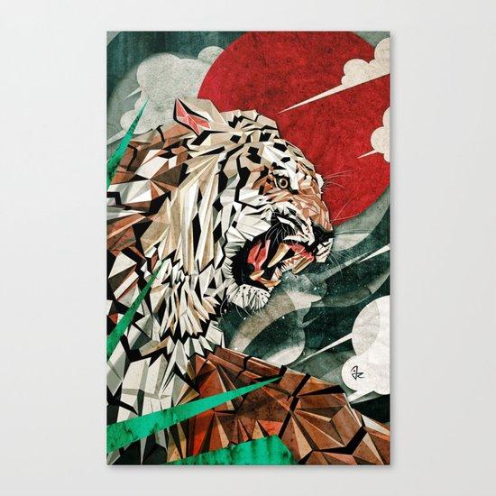 """""""Panthera Tigris"""" Canvas Print"""