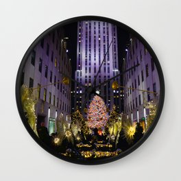 Live From New York Wall Clock