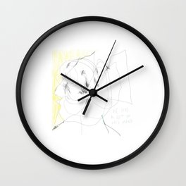 lots in mind Wall Clock