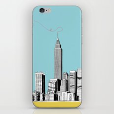 A Scribble in the Sky iPhone & iPod Skin